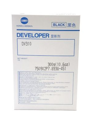 Genuine Konica Minolta DV310 (8938451) Black Developer