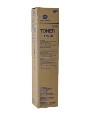 Genuine Konica Minolta TN710 ( 02XJ ) Toner Cartridge