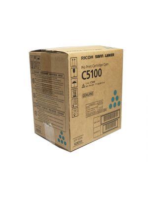Genuine Ricoh Pro C5100 Cyan Toner Cartridge