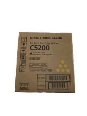 Genuine Ricoh Pro C5200 Yellow Toner Cartridge