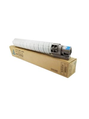 Genuine Ricoh MP C5502 Cyan Toner Cartridge