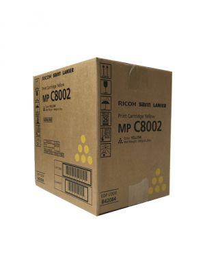 Genuine Ricoh MP C6502 Yellow Toner Cartridge