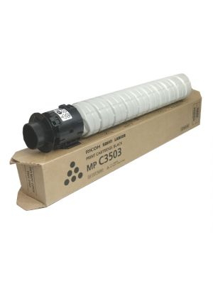 Genuine Ricoh MP C3003 Black Toner Cartridge