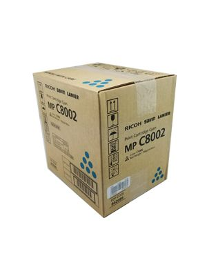 Genuine Ricoh Mp C8002 Cyan Toner Cartridge