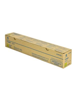 Genuine Konica Minolta Bizhub C554 Yellow Toner Cartridge