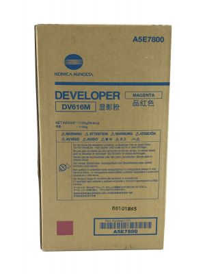 Genuine Konica Minolta Bizhub Press C1100 Magenta Developer