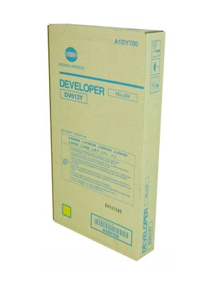 DV613Y Konica Minolta Bizhub Press C8000 Yellow Developer A1DY700