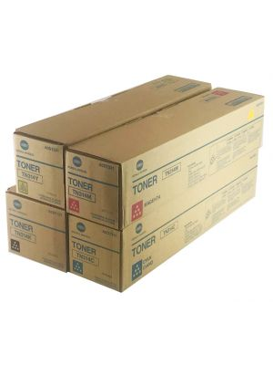 Genuine Konica Minolta Bizhub C353 Toner cartridges Set
