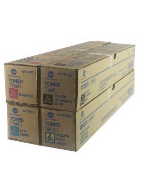 Genuine Konica Minolta Bizhub C360 Toner Cartridges Set