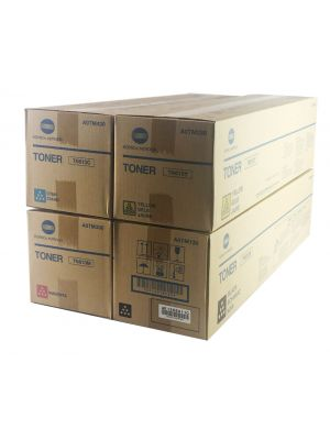 Genuine Konica Minolta Bizhub C552 Toner Cartridges Set